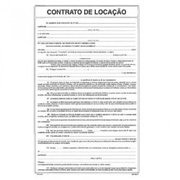 Impresso Contrato Loca O 100 Folhas S O Domingos